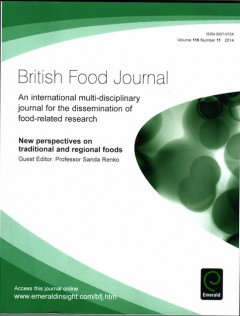 British Food Jurnal,Emerald Group Publishing